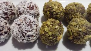 Chokoladetrøfler med twist af orangesmag